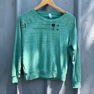 Yasmine Louis Toronto Subway sweatshirt